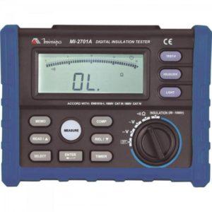 Megômetro Digital MI-2701A – Minipa