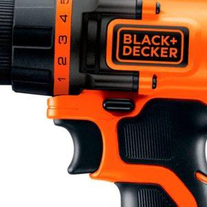 Parafusadeira e Furadeira 3/8 20V Bateria Max Ion Lítio Bivolt LD120 BLACK+DECKER