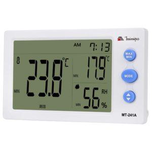 Relógio Termo-Higrômetro Digital (Interno/Externo) MT-241A Minipa