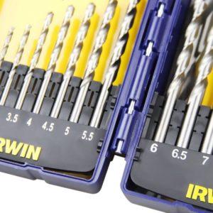 Jogo de Brocas Aço Rápido com 15 Peças 1,5 a 10mm 1865314 Irwin