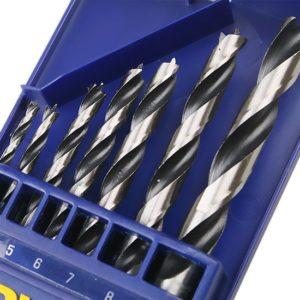 Jogo de Brocas para Madeira com 7 Peças 3 a 10mm 1865317 Irwin