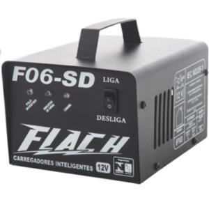 Carregador Inteligente de Bateria F06-SD Flach