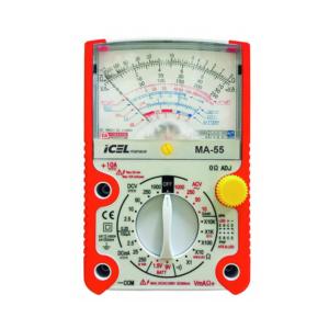 Multímetro Analógico MA-55 Icel