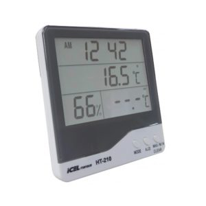 Relógio Termo-Higrômetro Digital (Interno/Externo) HT-210 Icel