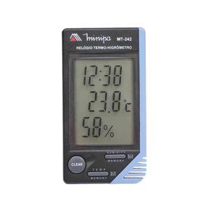 Relógio Termo-Higrômetro Digital (Interno) MT-242 Minipa