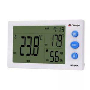 Relógio Termo-Higrômetro Digital (Interno) MT-242A Minipa