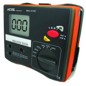 Megômetro Digital MG-3120 Icel