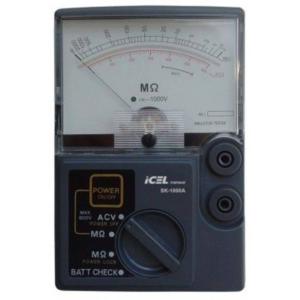 Megômetro Analógico SK-1000A Icel
