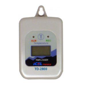 Relógio Termo-Higrômetro Digital TD-2800 Icel
