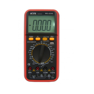 Multímetro Digital MD-6300 Icel