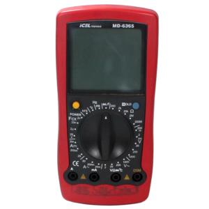 Multímetro Digital MD-6365 Icel