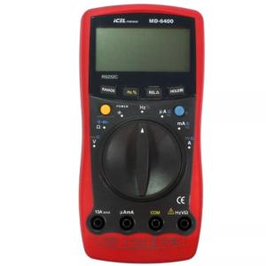 Multímetro Digital MD-6400 Icel