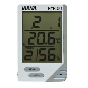 Termo-Higrômetro Digital (Interno/Externo) HTH-241 Hikari