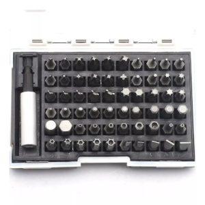Jogo de Bits 25mm com 61 Peças MTX